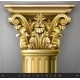 Gold Corinthian Column - GraphicRiver Item for Sale