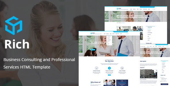 Rich - Consulting & Business HTML Template - Business Corporate
