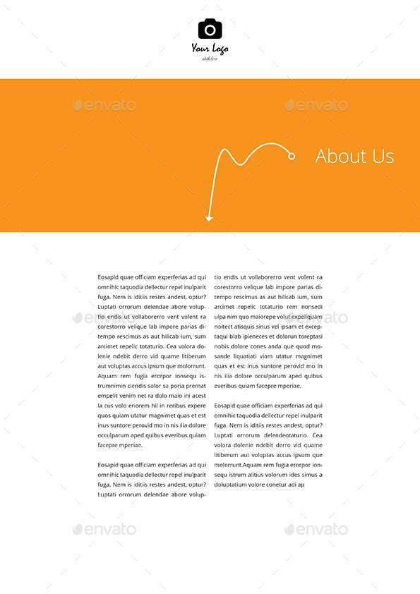Photography Proposal Template By Keboto | Graphicriver