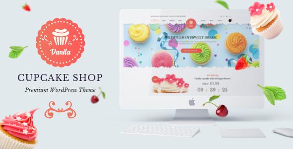 Bakery – Vanila  Cakery & Bakery HTML5 Template