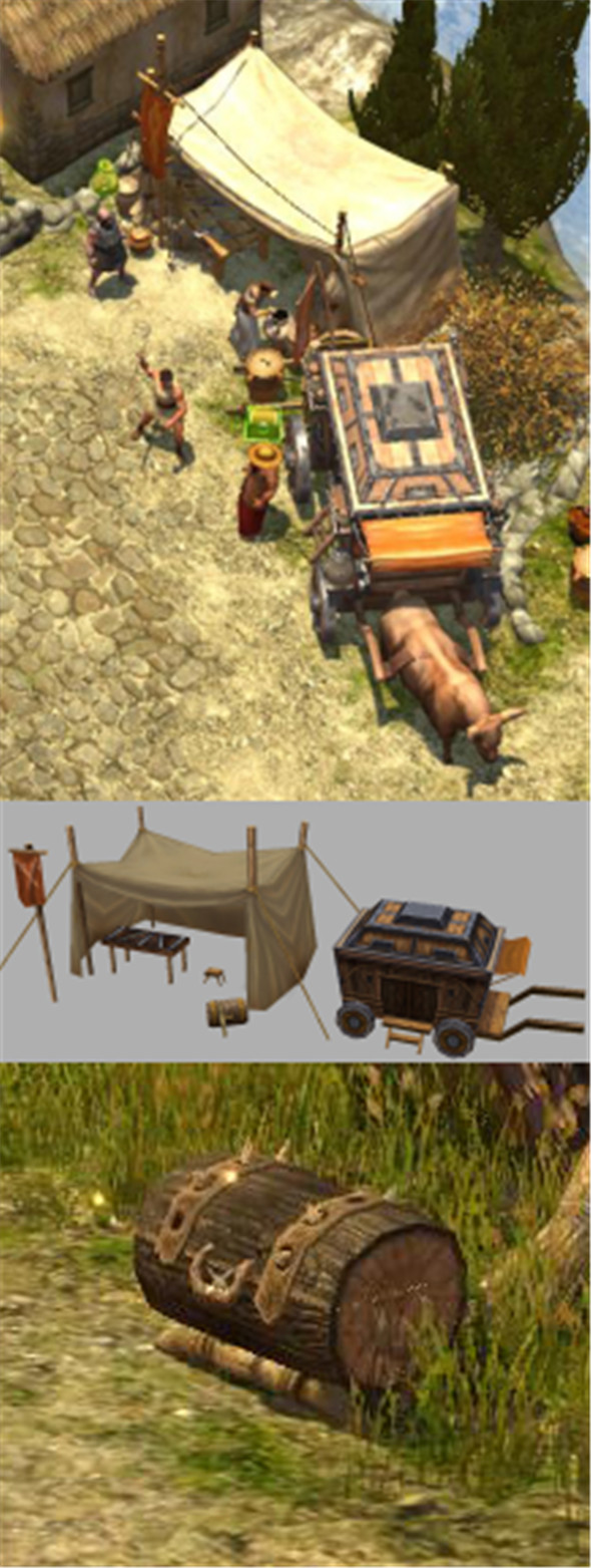 Game Model Arena - arms peddler car 01 - 3DOcean Item for Sale