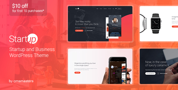 Startup Company – WordPress Theme for Business & Technology