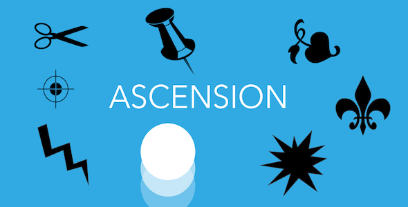 Ascension Ball Jump iOS-Admob-iAP-Share-Leaderboard - CodeCanyon Item for Sale