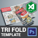 Tri-Fold Food Menu Template (Light) - GraphicRiver Item for Sale