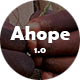 Ahope - A Best WordPress Theme for Non-Profit Organizations - ThemeForest Item for Sale