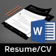 Resume/CV - GraphicRiver Item for Sale