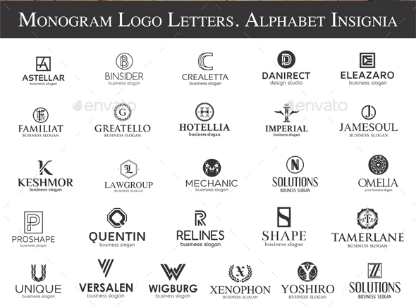 170 Logos Bundle Real Estate Music Letters Restaurants By Djjeep