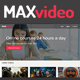 Responsive Video Courses Subscription - MAXvideo