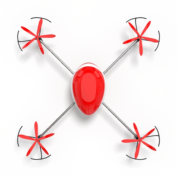 Quadcopter - 3DOcean Item for Sale