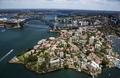 Kirribilli and Sydney Harbour Bridge Aerial - PhotoDune Item for Sale