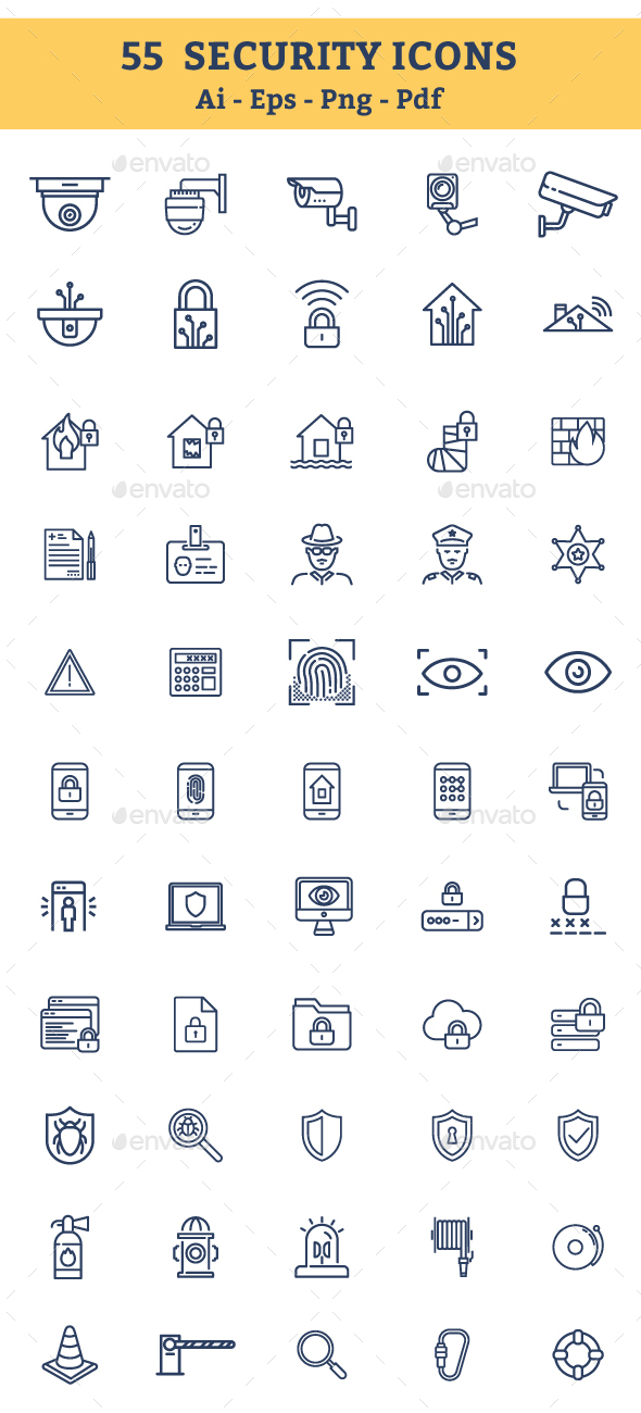 Security Icons - Icons