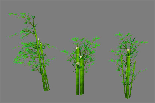 Game Model Arena - decorated tree 002 01 - 3DOcean Item for Sale