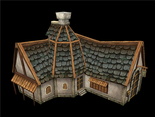 Game Model Arena - Farm 01 - 3DOcean Item for Sale