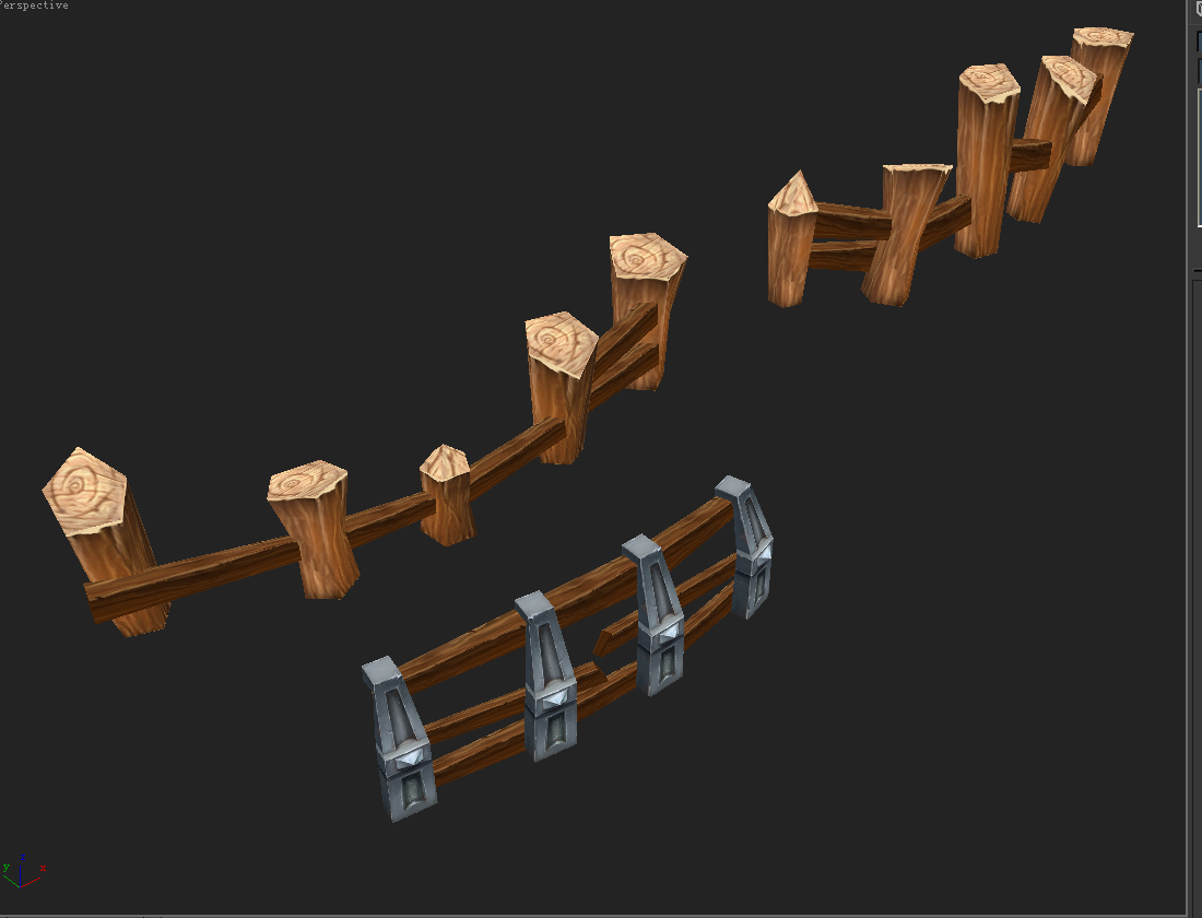 Game Model Arena - Fence 0011 01