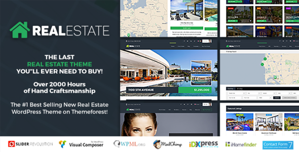 Real Estate 7 - Real Estate WordPress Theme