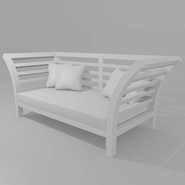 Day Bed Sofa - 3DOcean Item for Sale