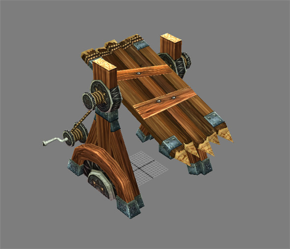 Game Model Arena - gate (Gate) 01 - 3DOcean Item for Sale