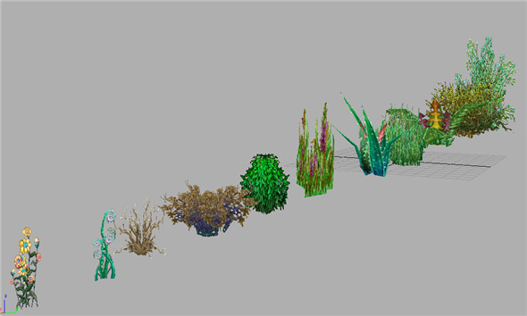 Game Model Arena - Grass 01 - 3DOcean Item for Sale