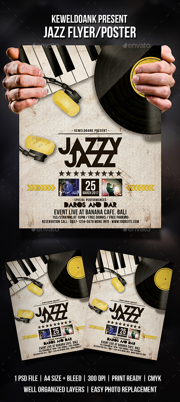 Jazz Flyer / Poster - Events Flyers