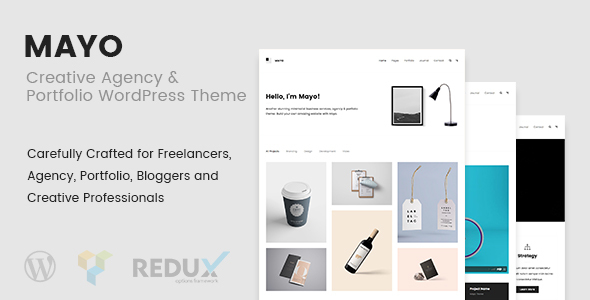 Mayo – Portfolio WordPress Theme for Creative Professionals