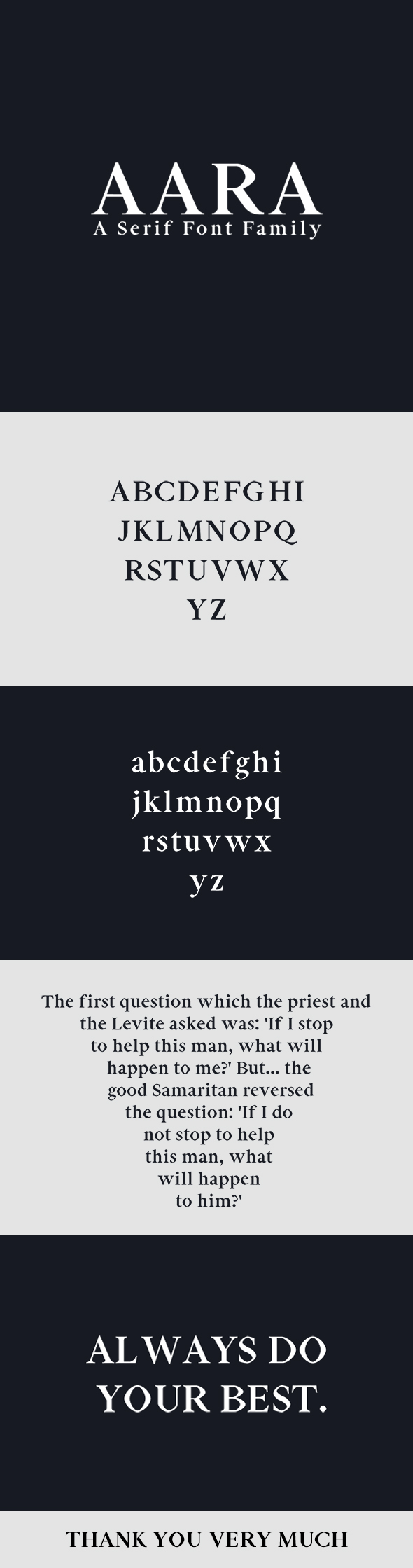 Serif Fonts from GraphicRiver (Page 6)