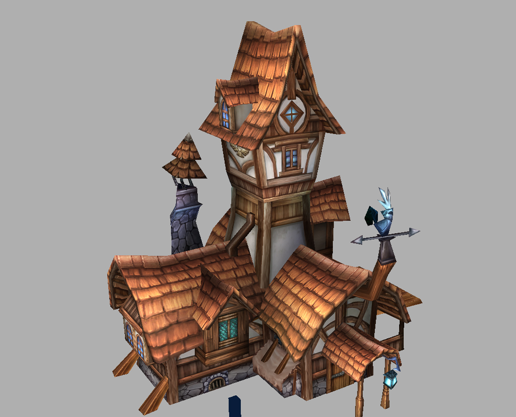 Game Model Arena - Houses 01