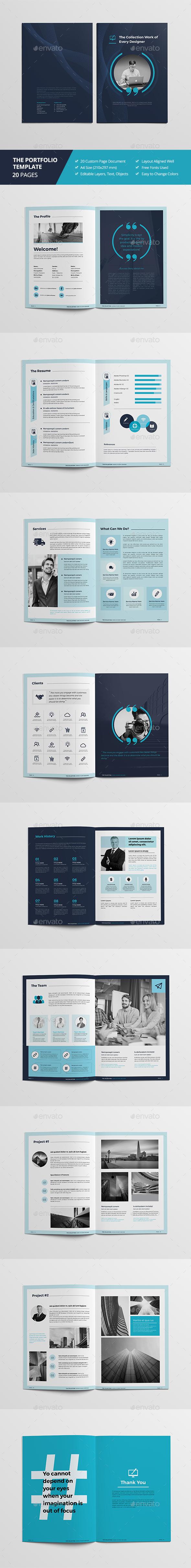 Haweya Portfolio Brochure - Brochures Print Templates