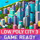 Low Poly City Pack 3 - 3DOcean Item for Sale