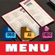 Menu - GraphicRiver Item for Sale