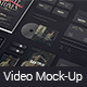 Black Mock-up Video Presentation - VideoHive Item for Sale