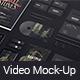 Black Mock-up Video Presentation - VideoHive Item for Sale