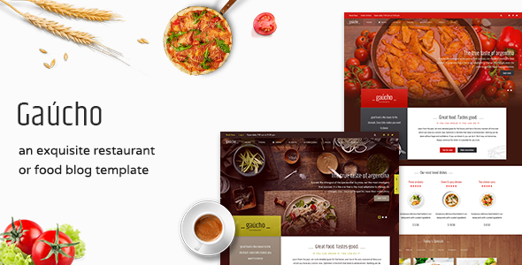 Restaurant Joomla Template And Cafe Menu - Gaucho Restaurant