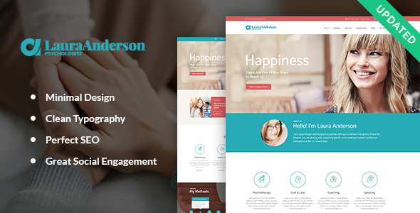 Psychologist | Therapy and Counseling WP Theme - Health & Beauty Retail