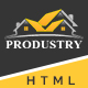 Produstry- Construction Multipage Template Nulled