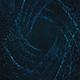 Diamond Blue Particles Background
