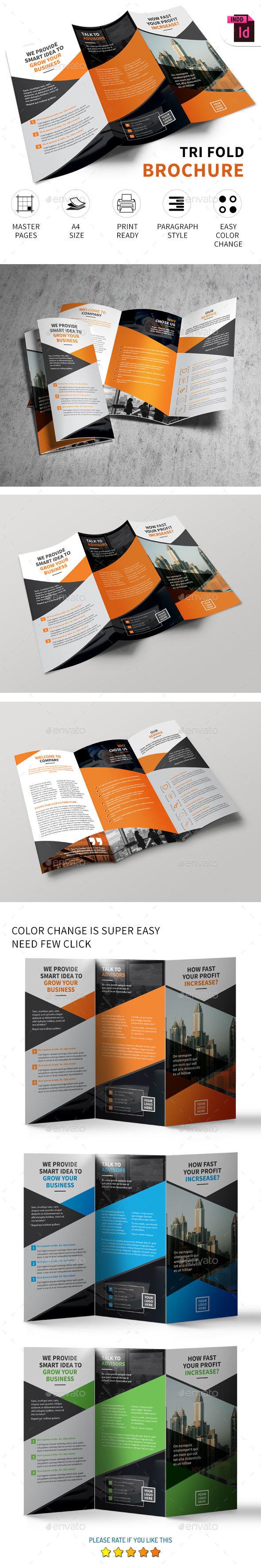 Corporate Tri-fold Brochure Vol.8 - Corporate Brochures