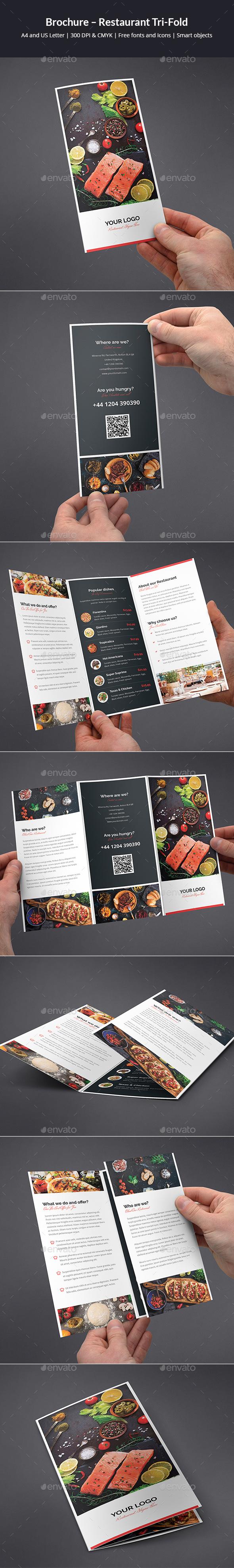 Brochure – Restaurant Tri-Fold - Informational Brochures