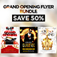 Grand Opening Flyer Bundle