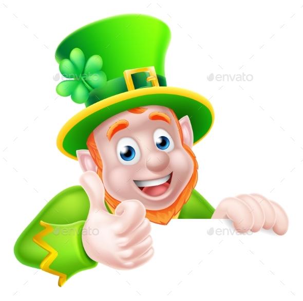 St Patricks Day Leprechaun Illustration - Miscellaneous Seasons/Holidays