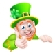 St Patricks Day Leprechaun Illustration