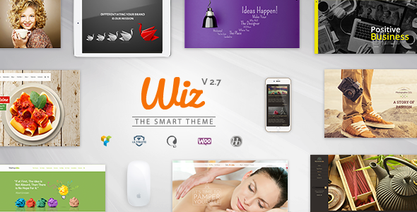 Wiz - The Smart Multi-Purpose WordPress Theme - Miscellaneous WordPress