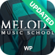 Melody - Music School WordPress Theme Nulled