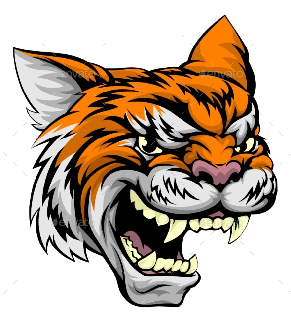 Tiger Sports Mascot - Animals Characters