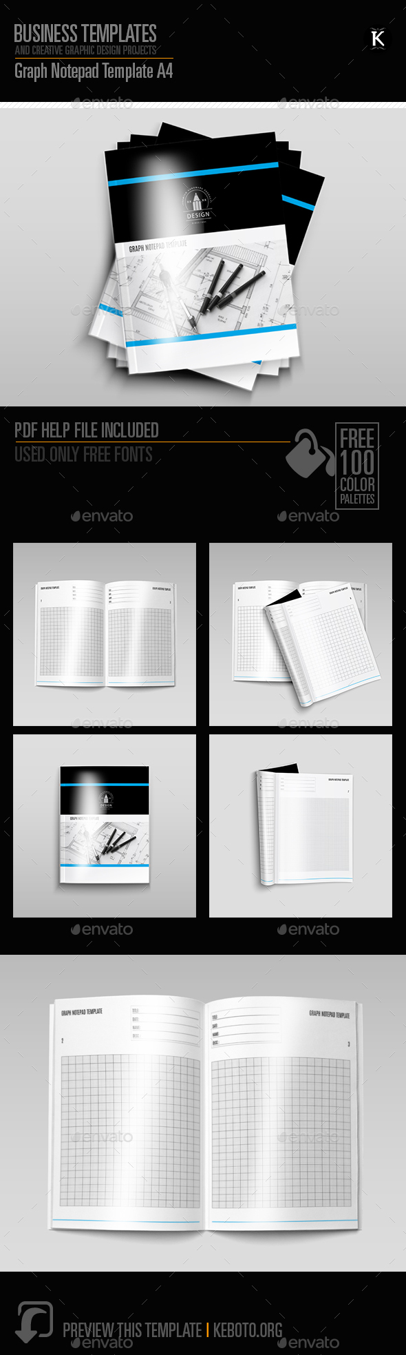 Notepad Stationery And Design Templates From Graphicriver