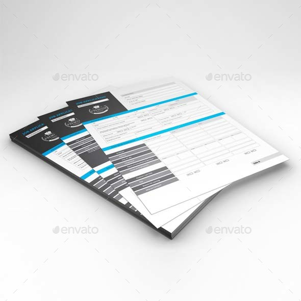 Job Application Template By Keboto  Graphicriver