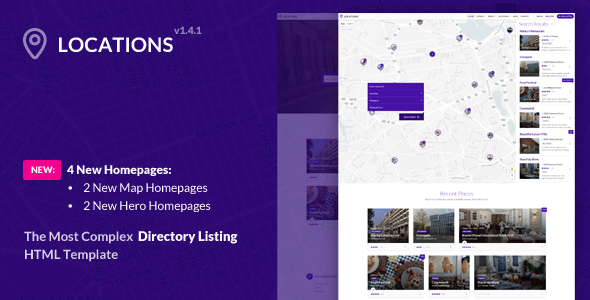 Locations - Multipurpose Directory Template - Corporate Site Templates