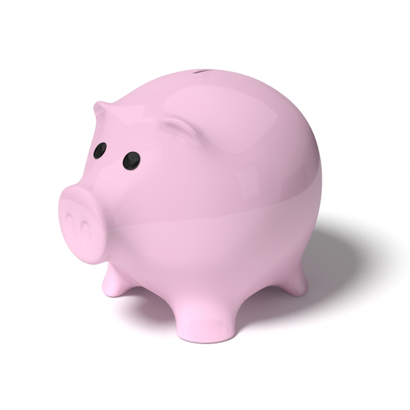 pig money box - 3DOcean Item for Sale
