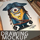 Drawing Mockup - GraphicRiver Item for Sale