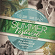 Summer Event Flyer / Poster Vol.5 - GraphicRiver Item for Sale