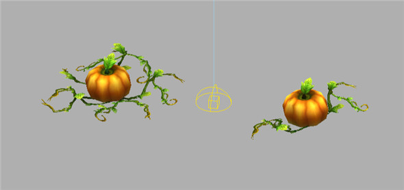 Game Model Arena - Pumpkin 01 - 3DOcean Item for Sale